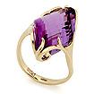 Золотое кольцо с аметистом SL-02431-498 весом 5.5 г  стоимостью 30800 р.